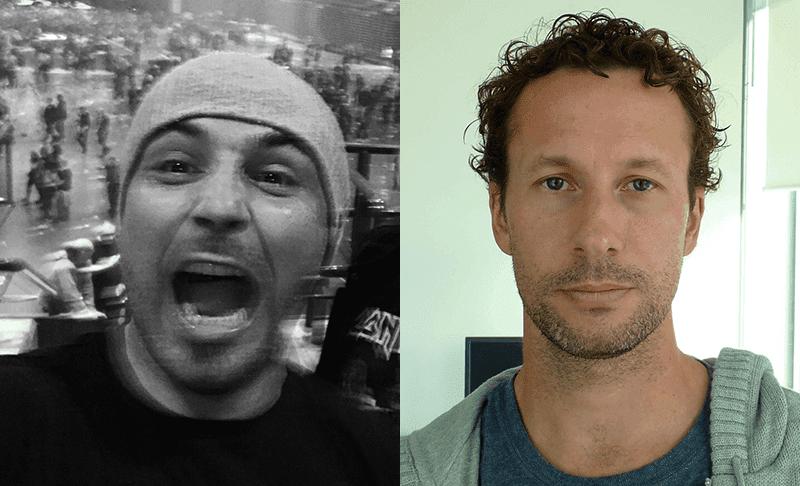 UX experts Kamil Kuczynski and Nick Duffield
