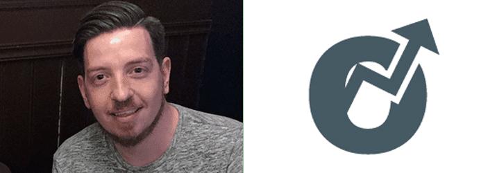 Richard Petersen-Hall and the Optimisey logo