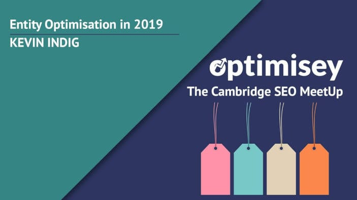 Entity optimisation in SEO in 2019