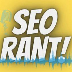 The SEO Rant podcast logo
